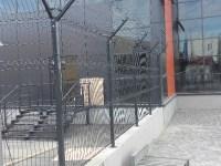 Забор панельный